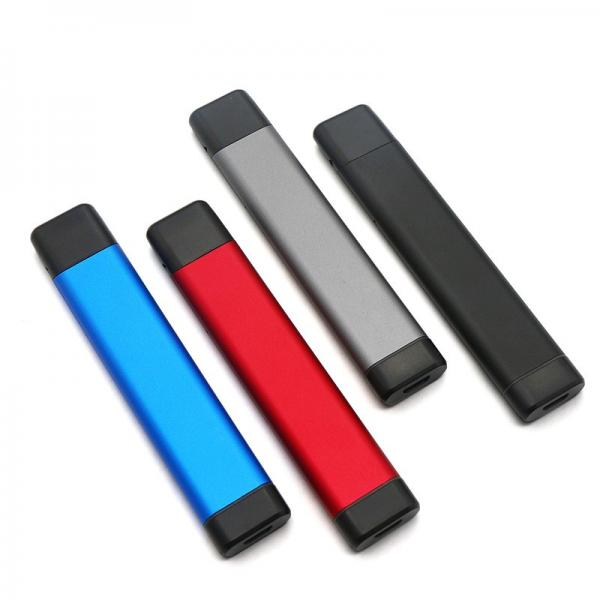 High Quality Battery Classical Black Vape Pen Battery 510 Button Touch Battery #3 image